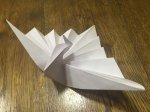 Как сделать лебедя из бумаги?