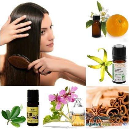 Как делать аромарасчесывание волос?