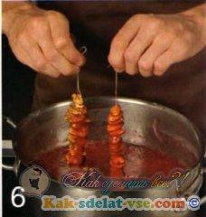 Как приготовить чурчхелу?