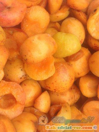 Домашняя пастила из абрикосов.