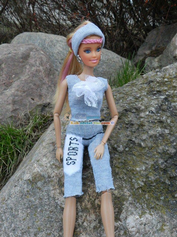 Как сделать одежду для Барби. Как сшить наряд для Барби своими руками 24
