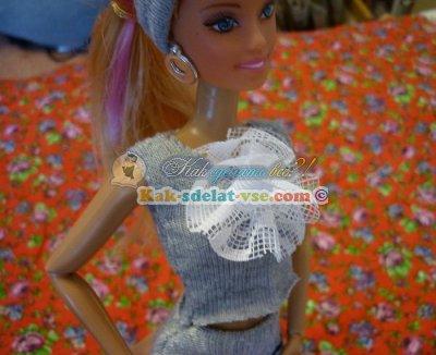 Как сшить костюм куклы Барби?
