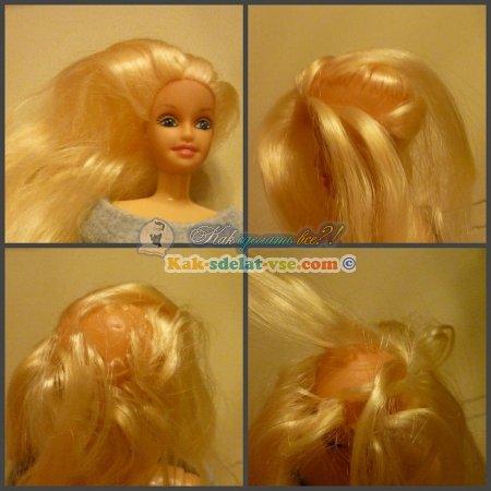 Как сделать новую прическу кукле