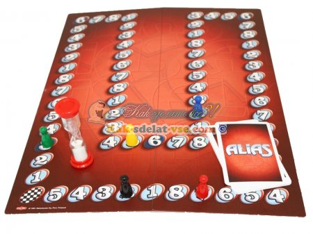 Классическая настольная игра Alias