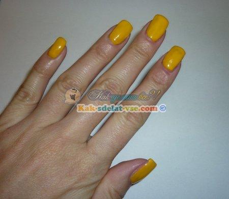 Как нарисовать миньонов на ногтях за 5 минут?