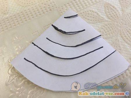 Как сделать гирлянду из бумаги?