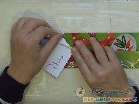 Как сделать бабочку из бумаги оригами?
