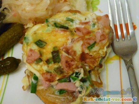 Как приготовить яичницу?