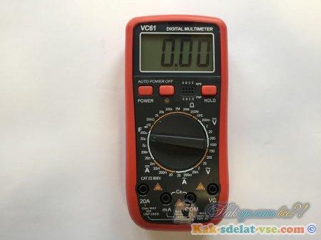 Мультиметр для дома. Как выбрать?