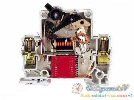 Выбор автоматического выключателя.