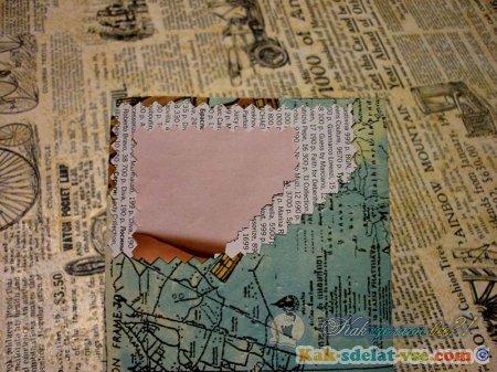 Как сделать романтичный конверт?