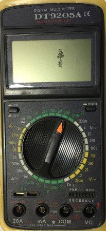 Мультиметр.Прозвонка,измерение напряжения.