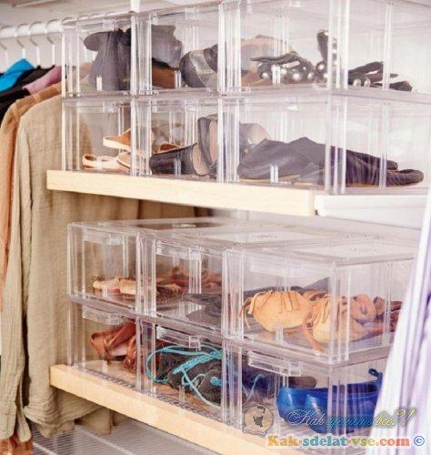 Как правильно хранить обувь?