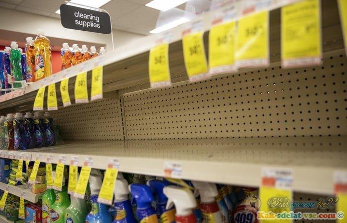 Запасаться продуктами из-за коронавируса?