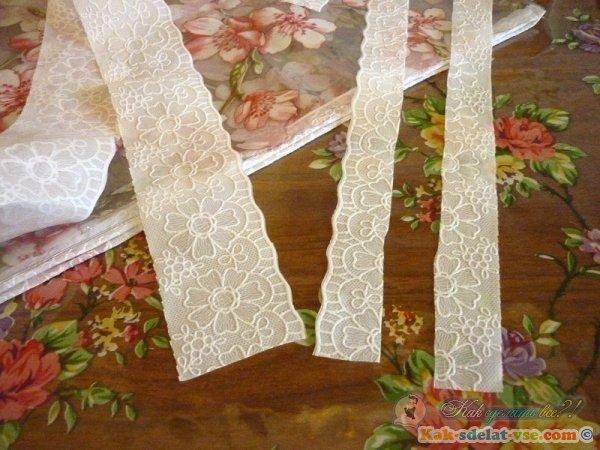 Как из скатерти сделать папку для больших листов