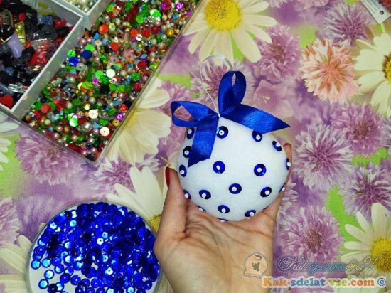 Как сшить новогоднюю игрушку своими руками?